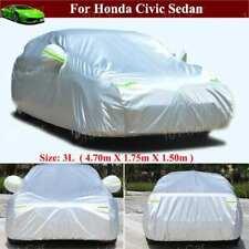 Full Car Cover Waterproof / Dustproof Car Cover for Honda Civic Sedan 2012-2015