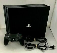 Sony PlayStation 4 Pro 1TB Console Cuh-7215B W/ Controller and Cables has crack