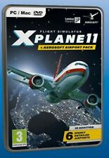 X-Plane 11 and Aerosoft Airport Collection (PC DVD) NEW SEALED XPLANE