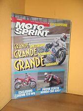MotoSprint - n° 13 - 27 Marzo/2 Aprile 1991 - Cagiva 125 W8 / Honda CBR 600 F