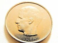 "1977 Belgium Ten (10) Francs ""French Text"" Coin"