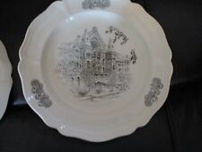 1975 Caroline Williams . Cincinnati Scene Collector Plate Music Hall