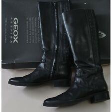 Stivali da donna neri Geox con cerniera | Acquisti Online su