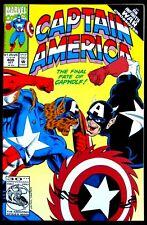 Captain America: The Final Fate of Capwolf #408 Marvel 1992 9.0 Nm