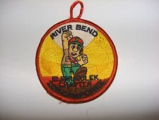 River Bend 2011 Camporee - Elemukolek Chapter - Boy Scout Iron on Patch
