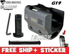 Strike Industries For G4 Glock SLIDE COMP 19 Reduce Muzzle Recoil GEN 4 G19 9mm