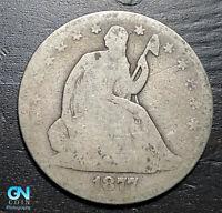 1877 P Seated Liberty Half Dollar  --  MAKE US AN OFFER!  #K4718