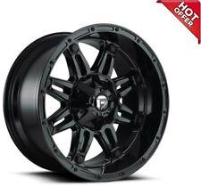 New 4ea 18x9 Fuel Wheels D625 Hostage Gloss Black Off Road Rims 18 18inch S7 Fits Nissan Armada