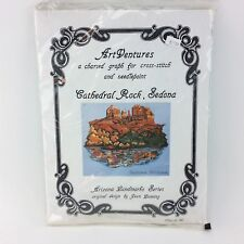 ArtVentures Cathedral Rock, Sedona Arizona Counted Cross Stitch Kit Jean Lanning