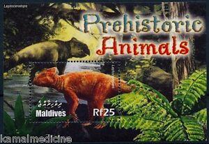 Maldives 2005 MNH SS, Leptoceratops Dinosaurs, Pre Historic Animals