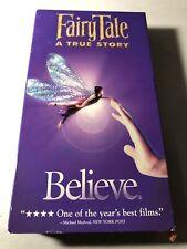 Fairy Tale: A True Story (1997) VHS Family Fantasy Mystery