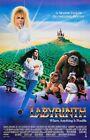 "Внешний вид - Labyrinth movie poster (c)  : 11"" x 17"" - David Bowie poster, Jennifer Connelly"