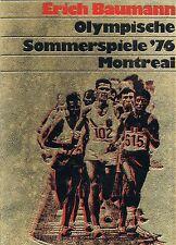 Buch Olympische Sommerspiele 1976 Montreal