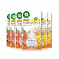 AirWick Essential Oils Air Freshener, Electrical Plug in Refills, Island Mango,