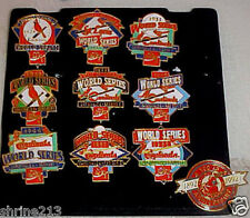 1992 Set of Cardinals World Series Champ Pins Coca Cola