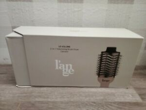 Lange 2 In 1 Brush Dryer L'ange Volume Blow Volumizing - Cement/ Black used ✅