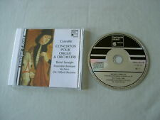 CORRETTE Concertos for Organ and Orchestra Saorgin Bezzina CD album