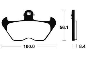 BMW K 1200 LT - Kit Plaquettes de frein AVANT - MF203 - 382031