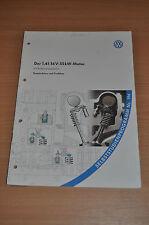 Selbststudienprogramm SSP 196 VW 1,4l 16 V 55 KW Motor Konstruktion und Funktion