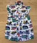 Moschino Girl Scouts Blouse Top Shirt Size 8