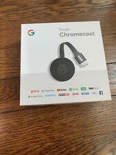 Google Chromecast (3rd Generation) - Black - Open Box But Never Used