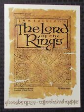 1978 Original Lord Of The Rings Fold-Out Poster Vf 8.0 Ralph Bakshi Fantasy Film