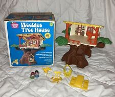 VTG 1975 HASBRO ROMPER ROOM WEEBLES TREE HOUSE 99 % COMPLETE BOX missing String