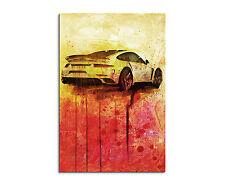90x60cm PAUL SINUS Splash Art Gemälde Auto Sportwagen Geschenkartikel