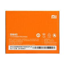 Batteria Originale BM45 XIAOMI REDMI NOTE 2  3020 - 3060 Mah Bulk NUOVA