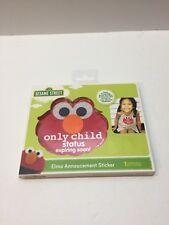 Sesame Street Elmo Announcement Sticker Only Child Status Expiring Soon! ~ New