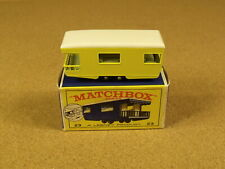 OLD VINTAGE LESNEY MATCHBOX # 23 CARAVAN TRAILER ORIGINAL BOX