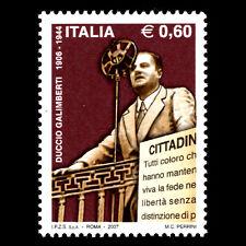 Italy 2007 - 100th Anniversary of the Birth of Duccio Galimberti - Sc 2811 MNH