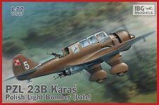 IBG 1/72 PZL 23B Karas Polish Light Bomber (Late) # 72507