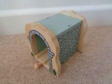bigjigs wooden tunnel wooden train set add on