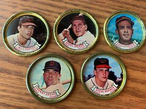 Baltimore Orioles Topps 1964 Coins Robinson, Pappas, Aparicio, Orsino, Barber