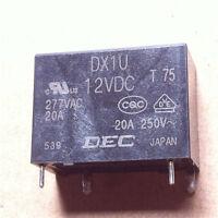DEC DX1U 12V DC DX1U 12VDC Relay module New