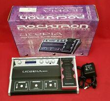 Rocktron Utopia G-100 Multi FX Effects Floor Unit Pedal Board (128 Presets) NICE
