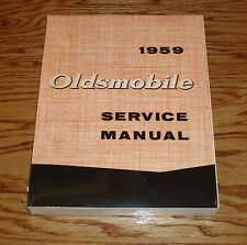 1959 Oldsmobile Shop Service Manual 59