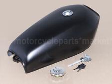 Black Cafe Racer Tank Motorcycle Fuel Gas Retro Petrol Tanks For HONDA Yamaha