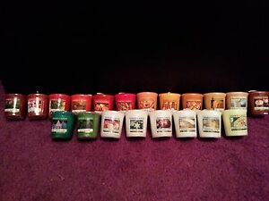 Yankee Candle Seasonal Votive, You Pick! #1