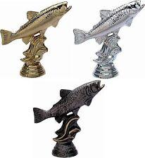 Angeln Schraub Figuren Forelle 30 Stück (Pokale Angelverein Angler Pokal Angel)