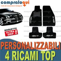 TAPPETI PER ALFA ROMEO GTV TAPPETINI AUTO SU MISURA + 4 DECORI TOP RICAMATI