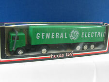 HERPA 801221 KOFFER-LASTZUG GENERAL ELECTRIC / X914