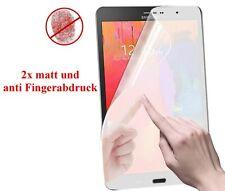 2x HD f Samsung Galaxy Tab pro 8.4 Display Schutz Folie matt Anti Fingerabdruck