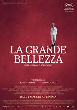 La Grande Bellezza Poster CINEMA 100X140cm Prima Edizione Italiana