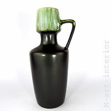 beautiful Keramik Vase Silberoxid-Glasur 20er 30er German Pottery Art Deco