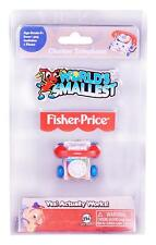 World's Smallest Fisher-Price Chatter Telephone #505, Classic, Pull, Mini, Micro