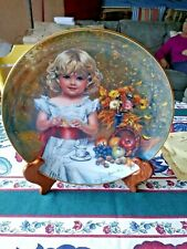 Reco Childhood Almanac Plate # 2106 Co by Sandra Kuck Coa