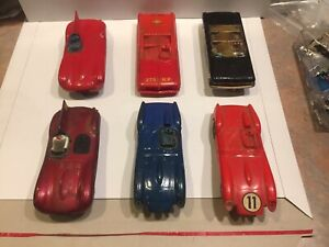 vintage 5 car lot 1:32 STROMBECKER slot cars with Running Chassis