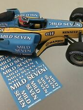 [1:18] Renault R23 Mild Seven Calca/Decal